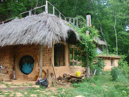 Rod Rylander's Hobbit House= Earthaven Ecovillage
