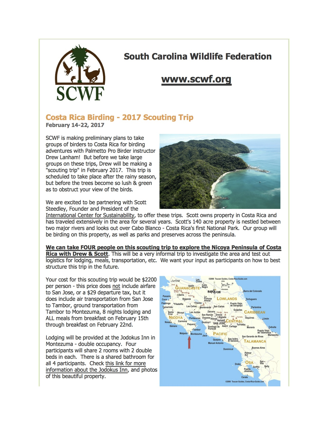 National Wildlife Federation- Collaboration w/ICS, Inc. and Dr. Drew Lanham